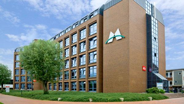 Monforts Firmenhauptsitz Mönchengladbach
